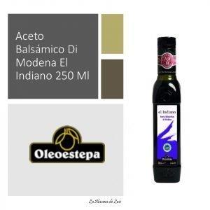 Aceto Balsámico Di Modena El Indiano 250 Ml