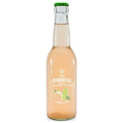 Kombucha probiótica strawberry feelings 330 ml