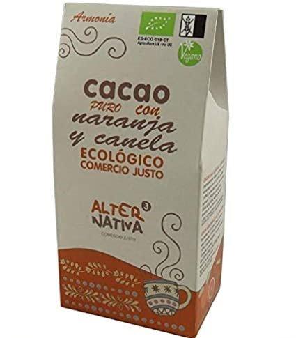 Cacao Puro con Naranja y Canela