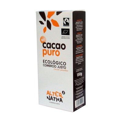 Cacao puro Ecológico comercio justo 150 gr