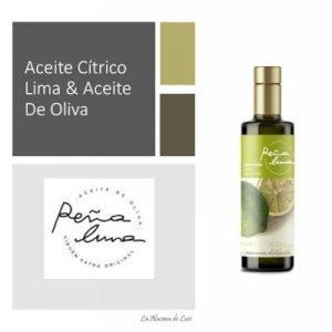 Aceite Cítrico Lima & Aceite De Oliva